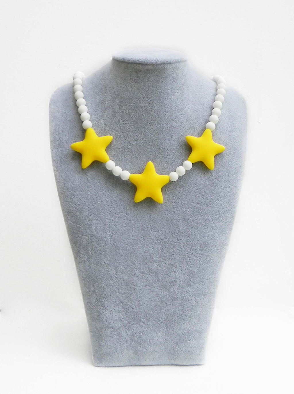 Children's Star Necklace in Yellow Lemon Drizzle- Halia Rose