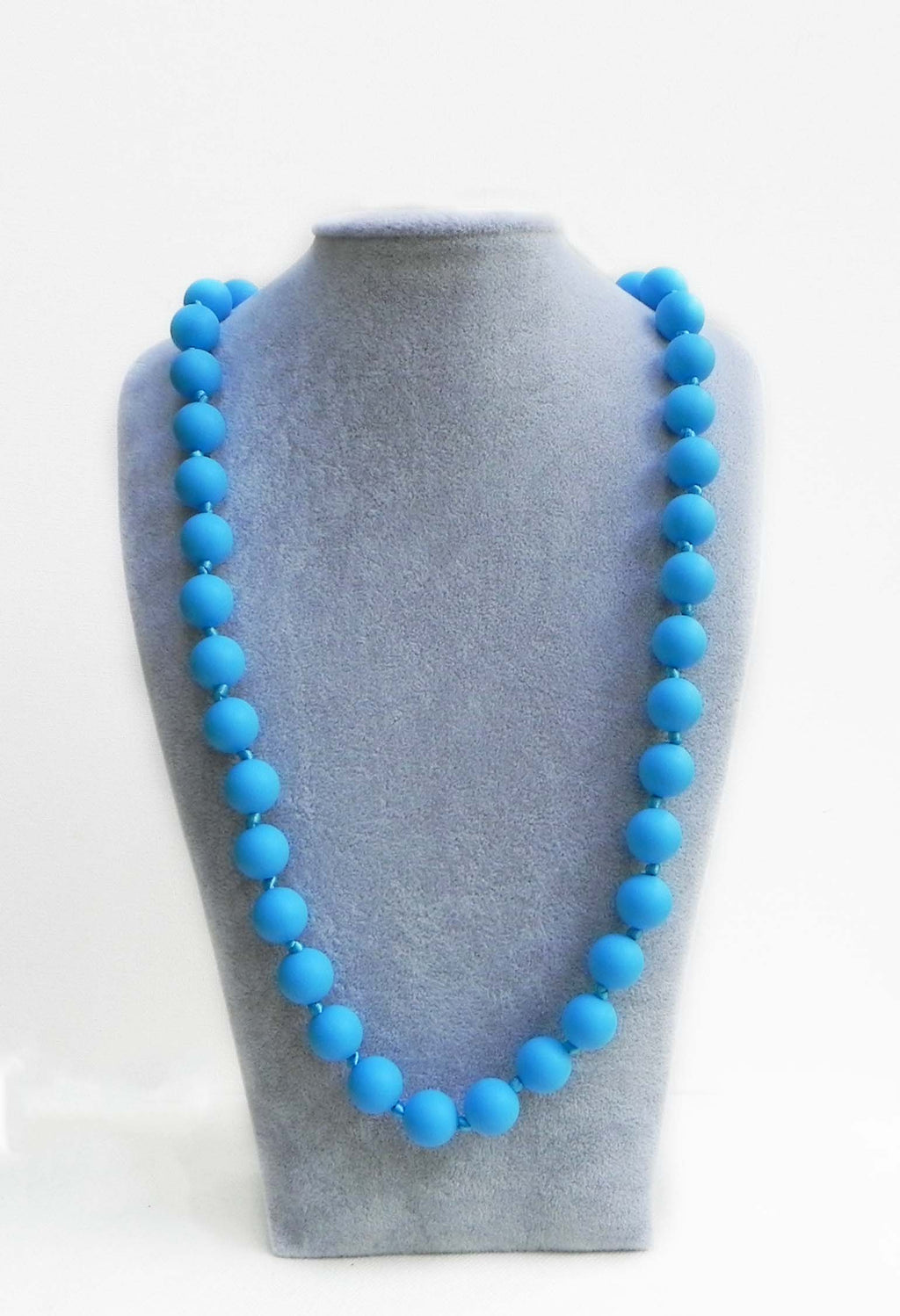 Bola Teething Necklace in Bluebell - Halia Rose