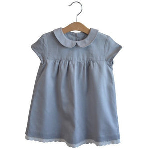 Amelie dress soft grey - Little Cotton Clothes