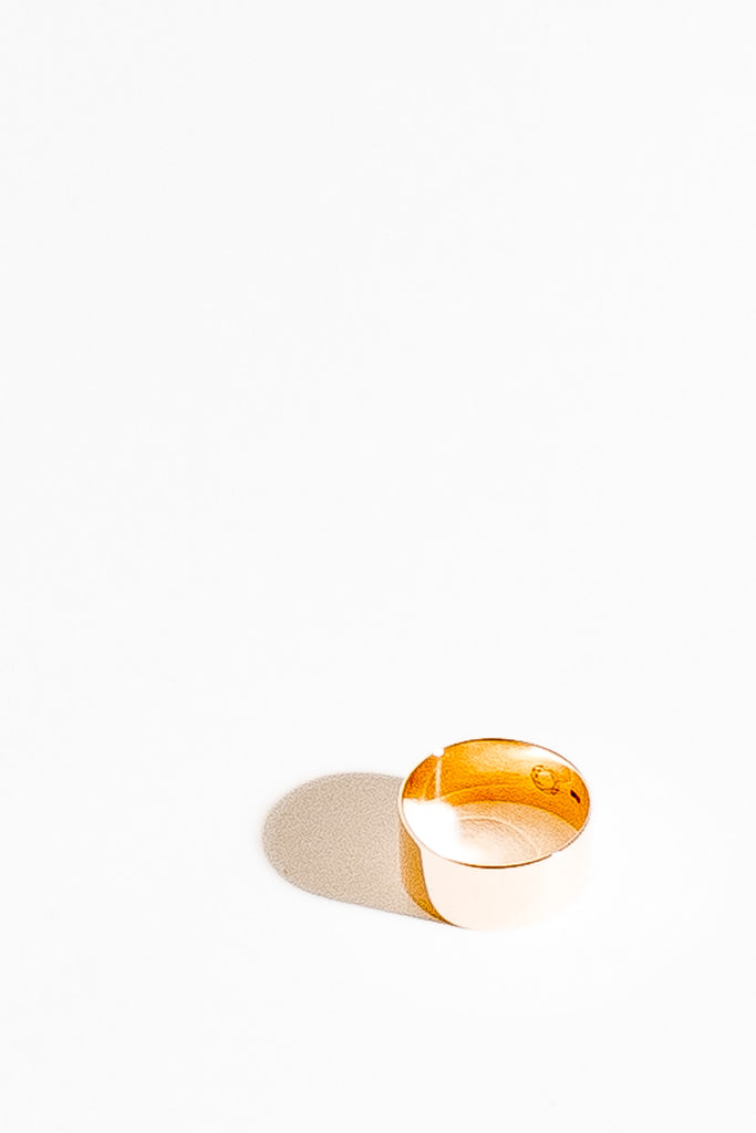 Saskia Diez Stripe Ring / Gold