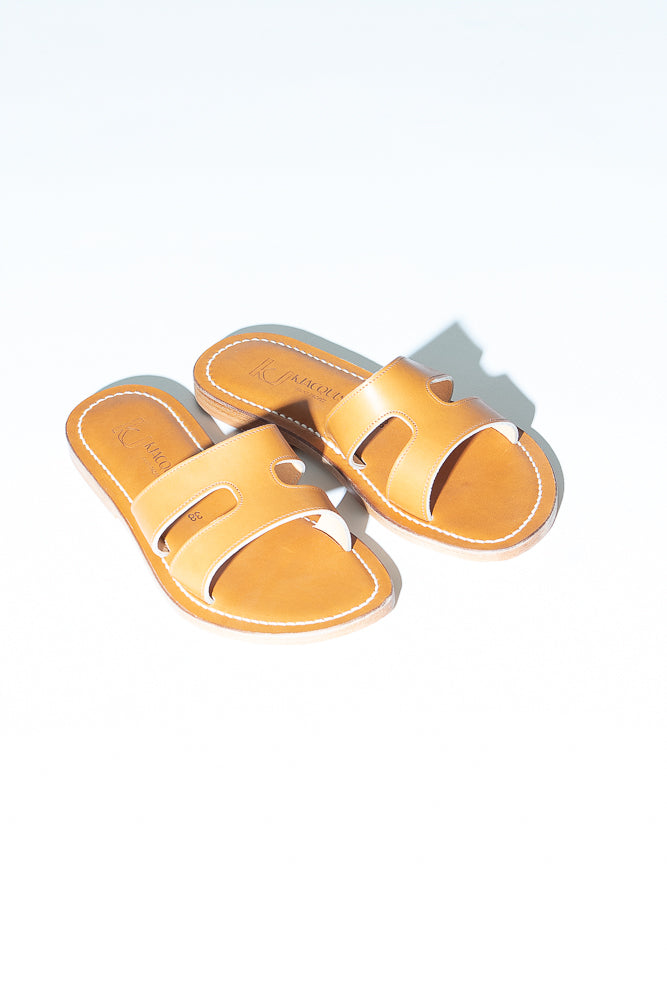 K. Jacques Menandre Sandal in Natural