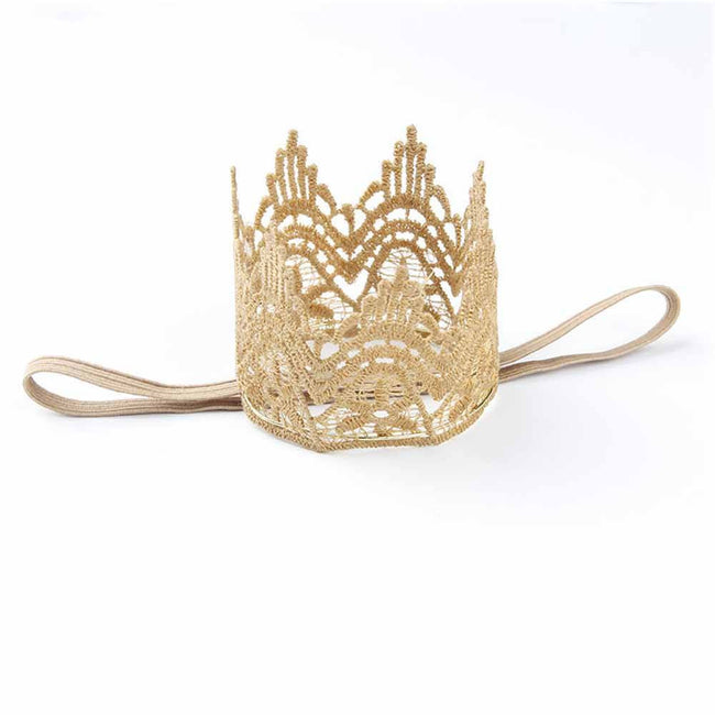 Gold Party Crown