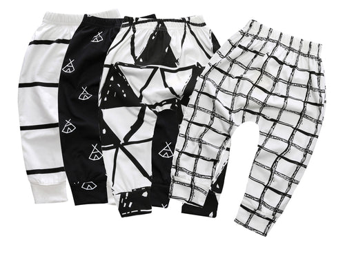 Black & White Comfy Pants