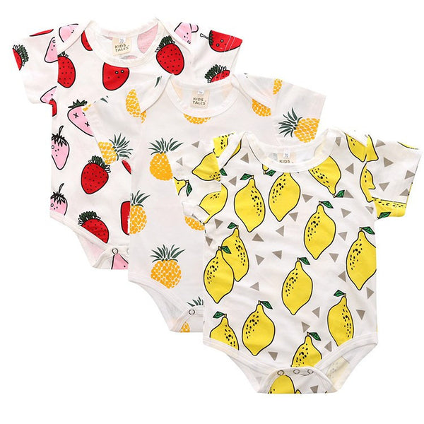 Fruity Onesie Set
