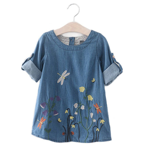 Garden Denim Dress