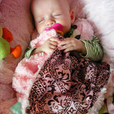 Hawaiian Dreams Cozy Baby Blanket