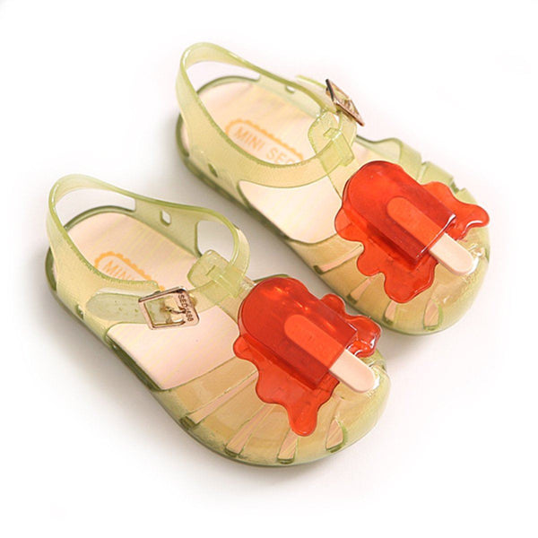 Melted Popsicle Sandals