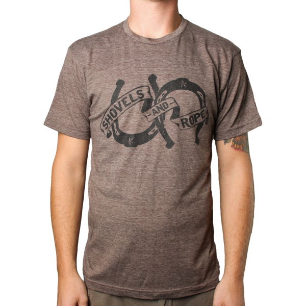 Brown Horseshoe Tee