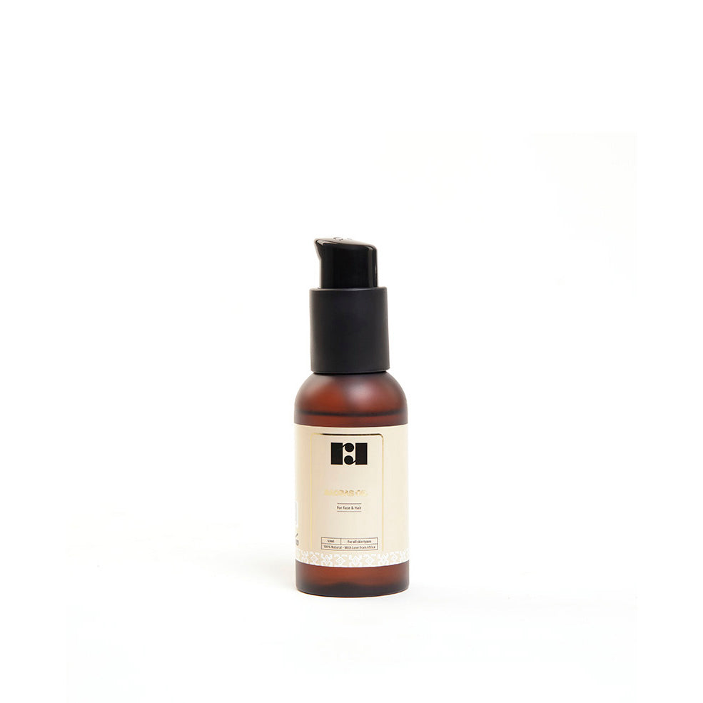 pure baobab oil by R&R Luxury for skin and hair