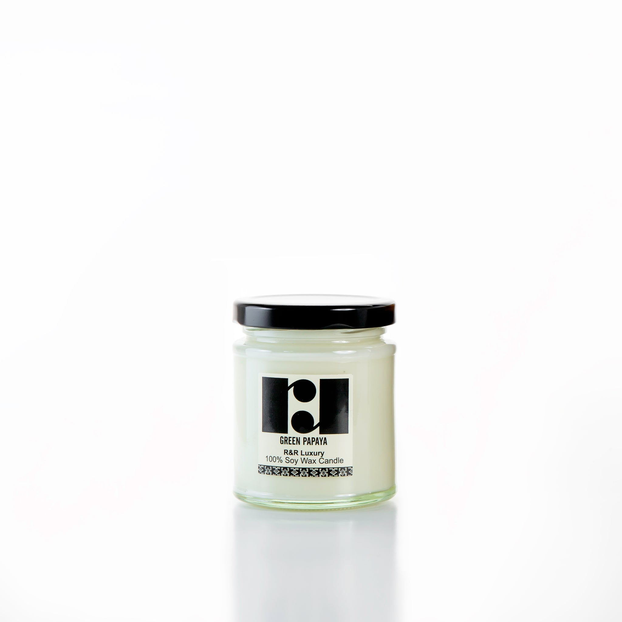Jamjar Candle - Green Papaya