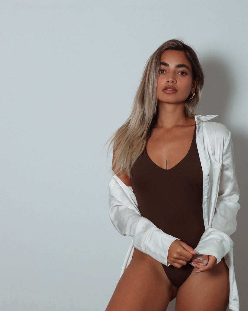 I One Piece | Deep Brown