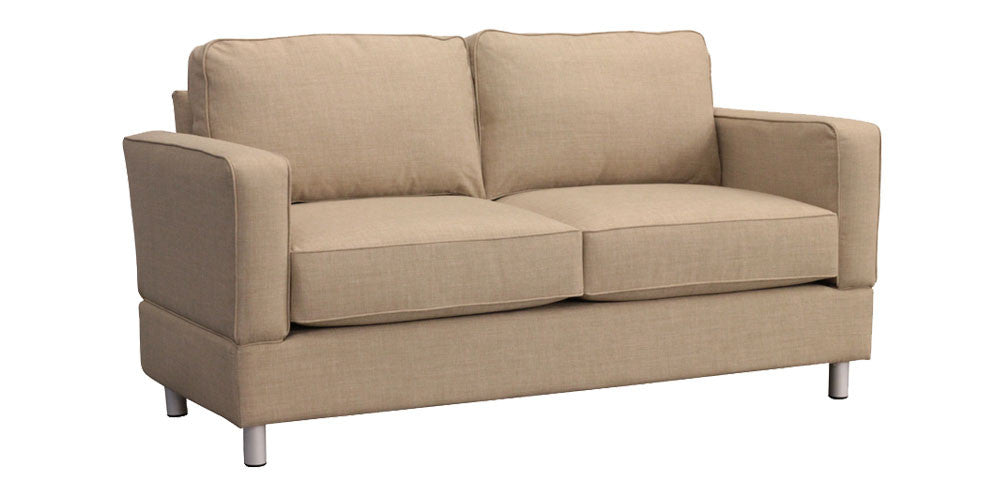 Raleigh Standard Three Seat Sofa with Bonner Leg – Small Space Seating