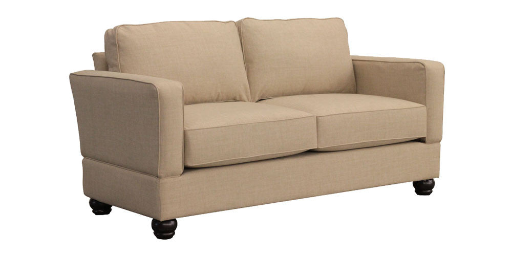 Raleigh Standard Three Seat Sofa with Oak Leg – Small Space Seating