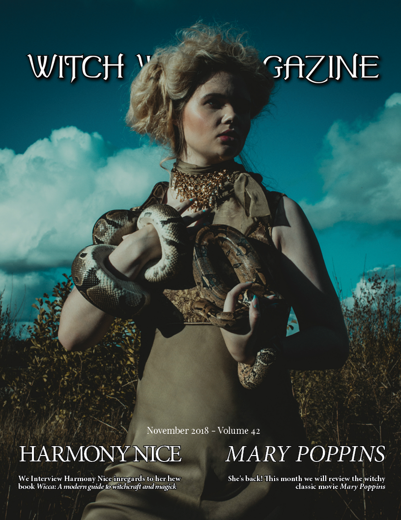 November 2018 Vol #42 - Spirit Issue - Witch Way Magazine - Digital Issue