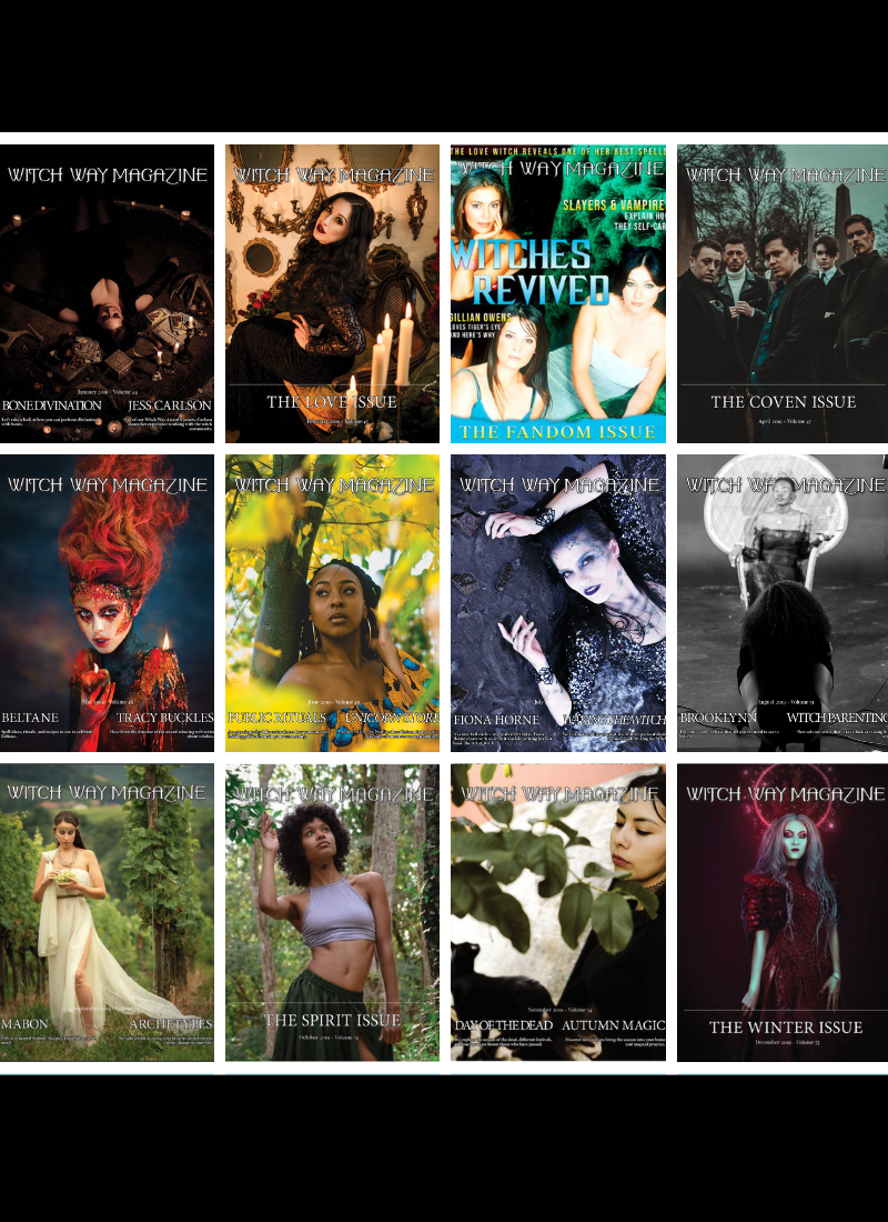 Every 2019 Issue - Witch Way Magazine - Volumes 44-55 - DIGITAL