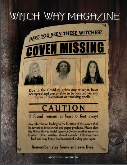 April 2020 Vol #59 - The Coven Issue - Witch Way Magazine - Digital Issue