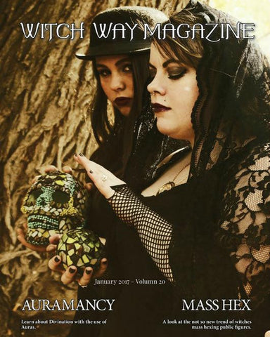 January 2017 Vol #20 - Witch Way Magazine