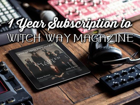 1 Year Digital Subscription to Witch Way Magazine