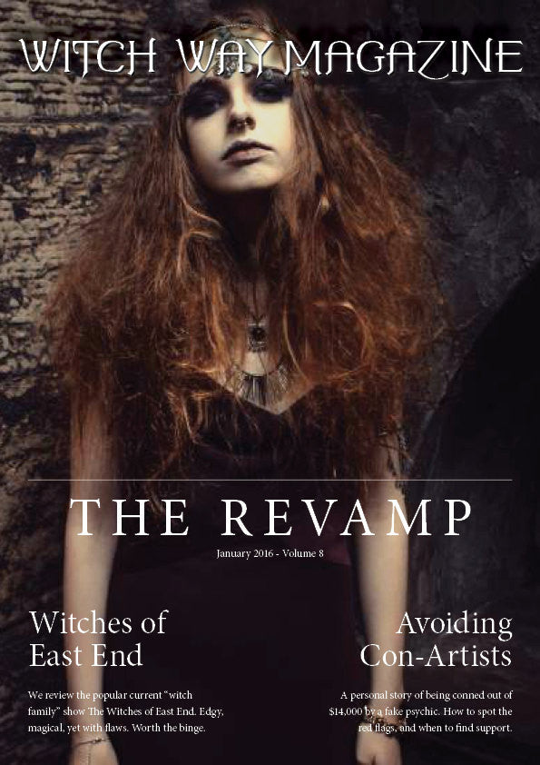 January 2016 Vol #8 - Witch Way Magazine - DIGITAL