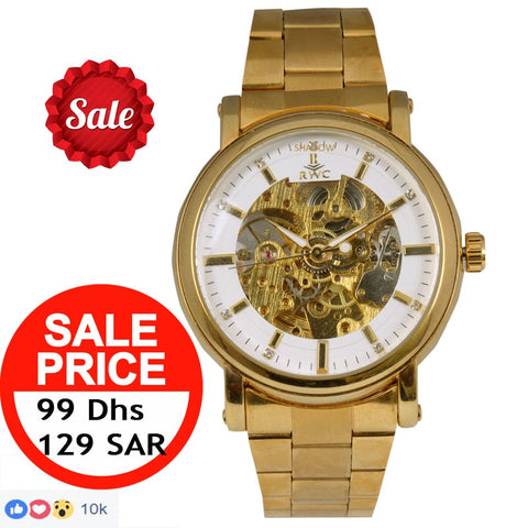 King Watch 18K Gold Platted - DubaiPhonestore