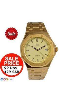 King Watch 18K Gold Platted P2 - DubaiPhonestore