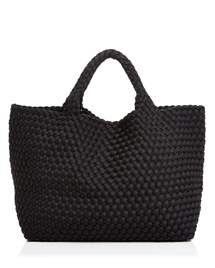 St. Barths Tote | Onyx - The Yellow Canary
