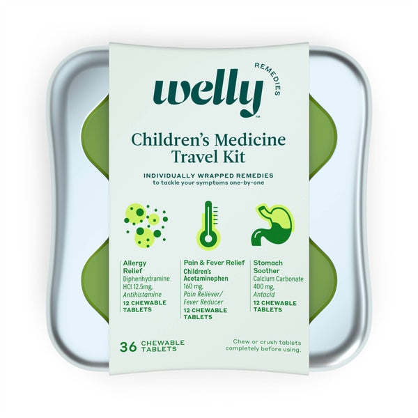 Children's Medicine Travel Kit - The Yellow Canary