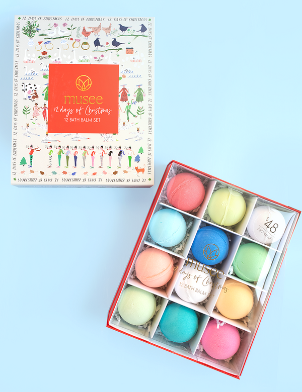 12 Days of Christmas Bath Balm Set - The Yellow Canary