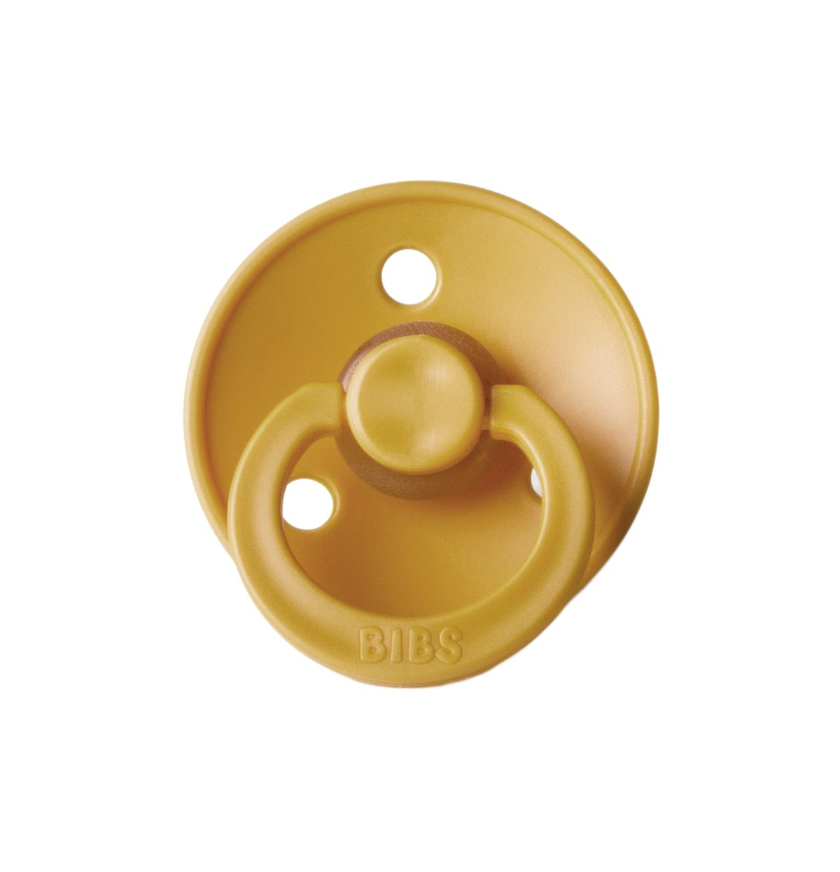 Bibs Pacifier | Mustard - The Yellow Canary