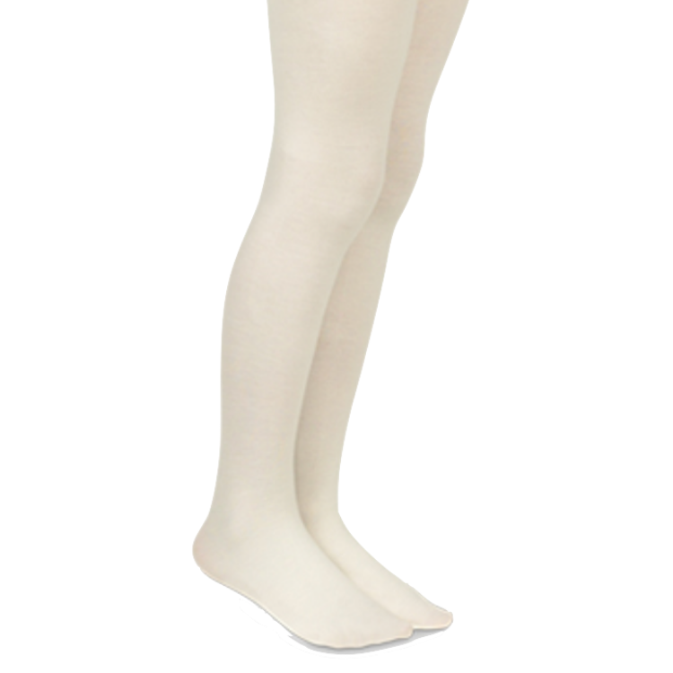 Microfiber Tights | Ivory - The Yellow Canary