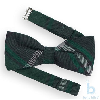 Monroe Plaid Bowtie - The Yellow Canary