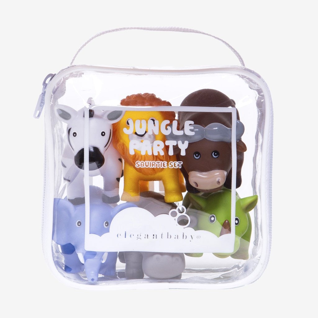 Jungle Party Bath Toys - The Yellow Canary