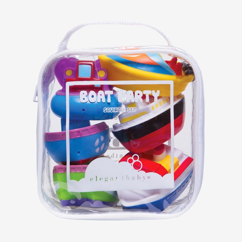 Boat Party Bath Toys - The Yellow Canary