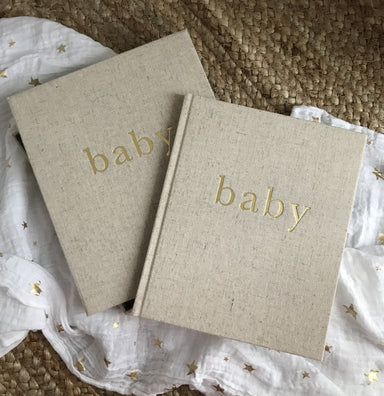 First Year of You Baby Book - The Yellow Canary