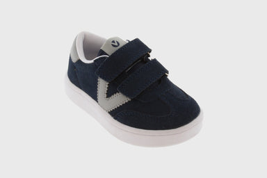 Millas Suede Sneaker | Navy - The Yellow Canary