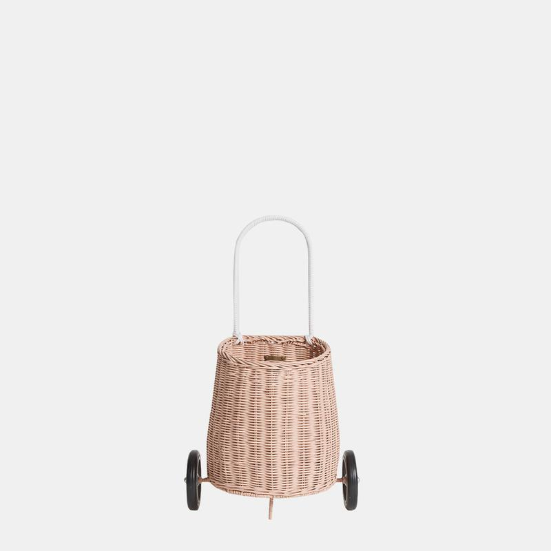 Rattan Luggy | Rose - The Yellow Canary