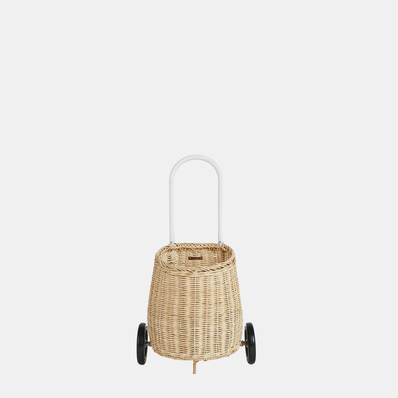 Rattan Luggy | Straw - The Yellow Canary