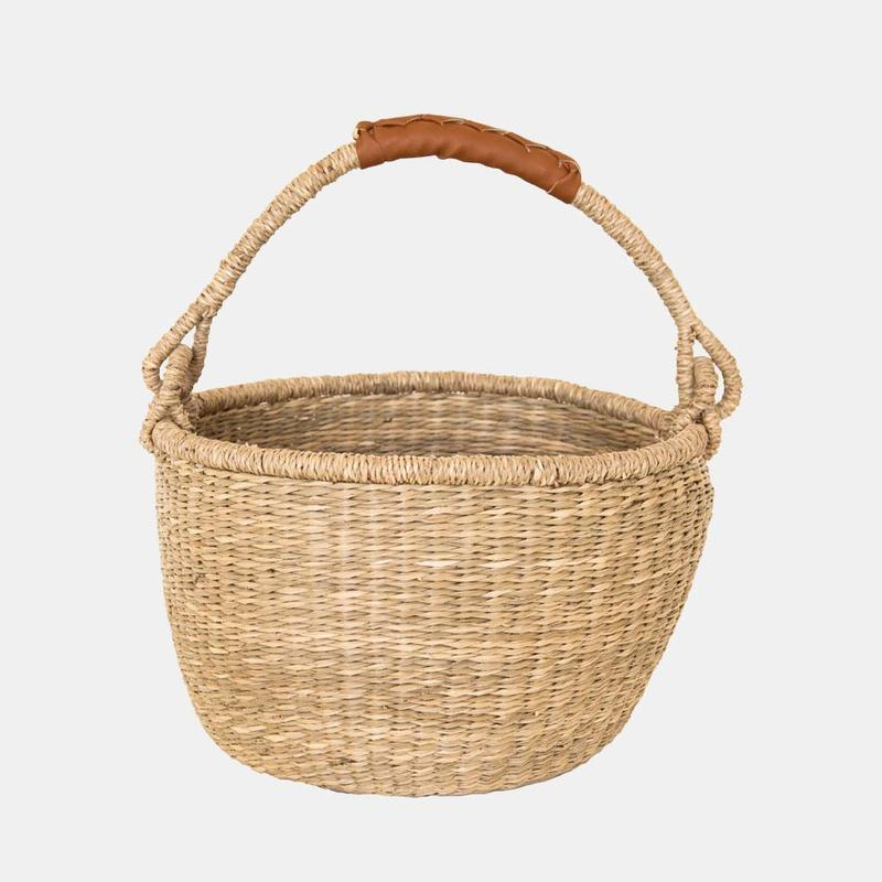 Midi Bolga Basket - The Yellow Canary