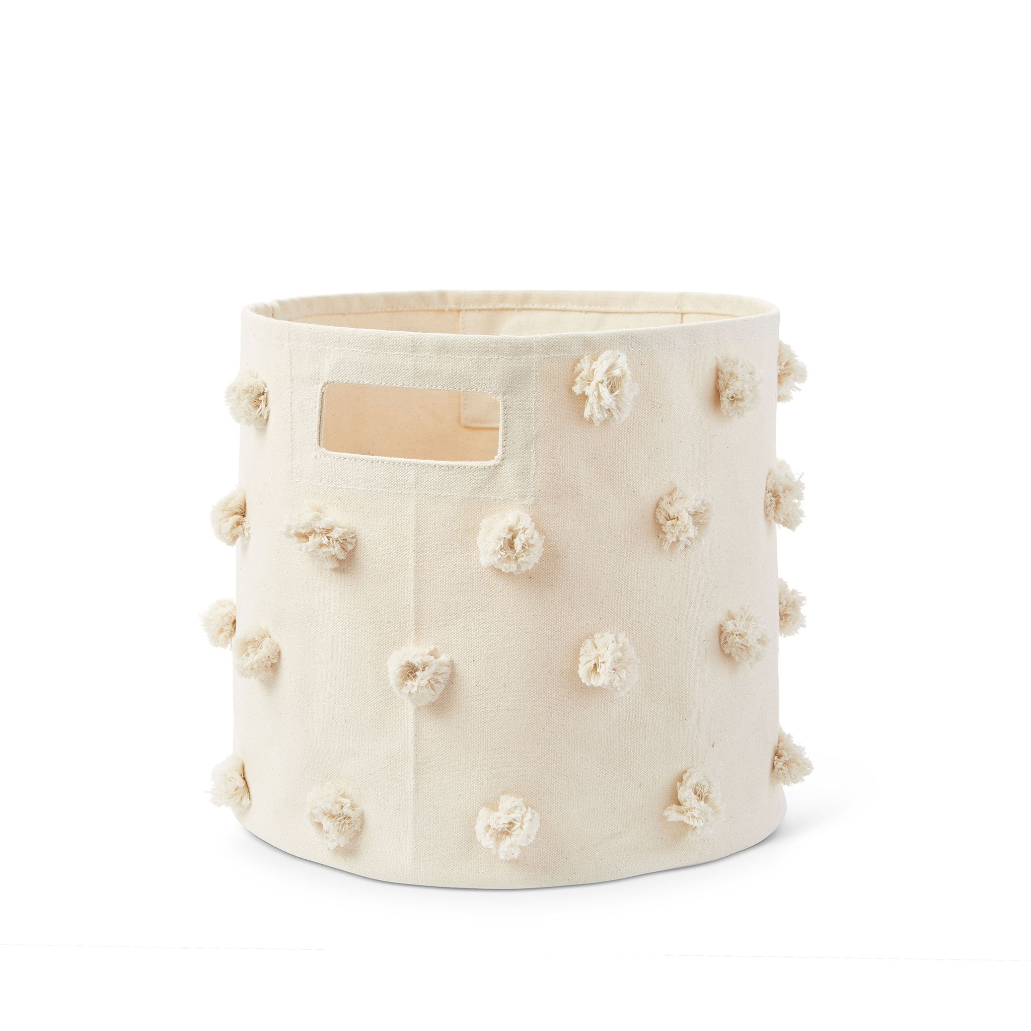 Pom Pom Bin | Natural - The Yellow Canary
