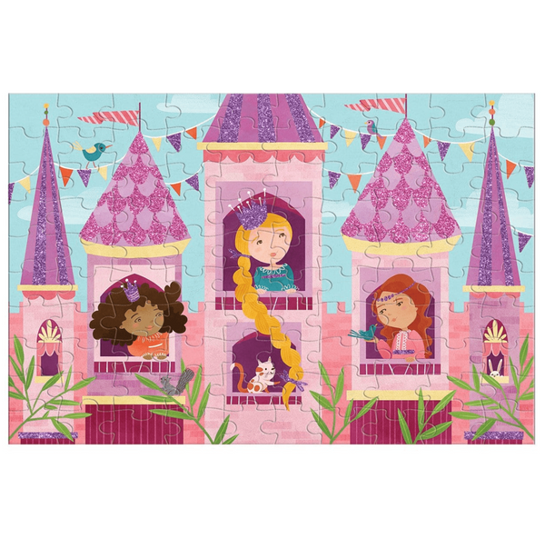 Princess Glitter Puzzle - The Yellow Canary