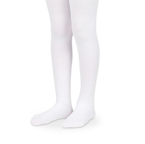 Microfiber Tights | White - The Yellow Canary