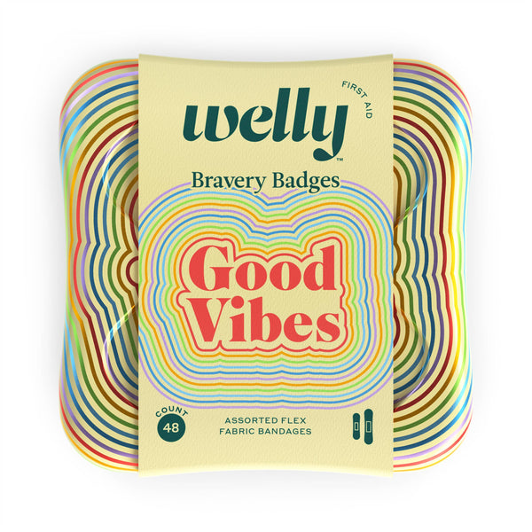 Bravery Badges | Good Vibes - The Yellow Canary