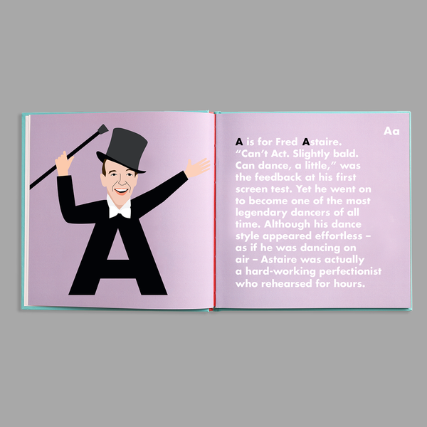 Dance Legends Alphabet Book - The Yellow Canary