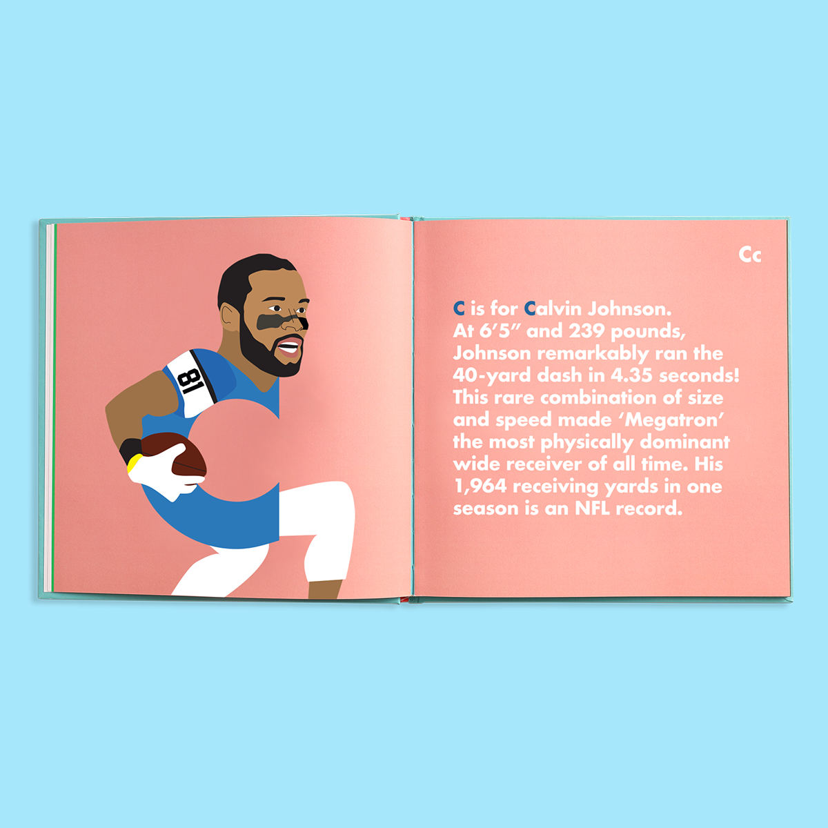 Football Legends Alphabet Book - The Yellow Canary