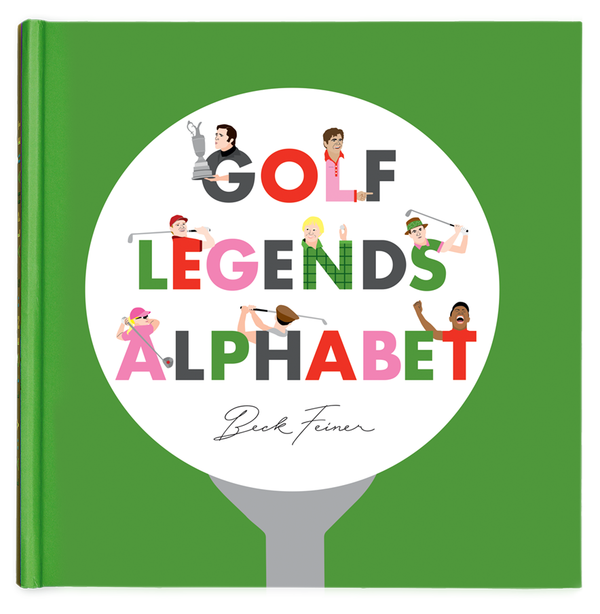 Golf Legends Alphabet Book - The Yellow Canary