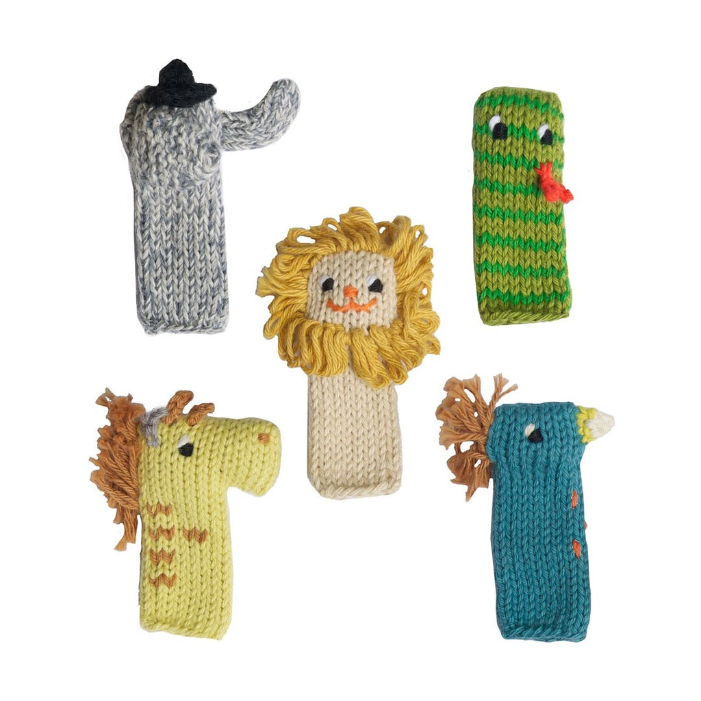 Finger Puppet Set | Jungle - The Yellow Canary