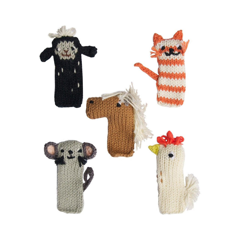 Finger Puppet Set | Barn - The Yellow Canary