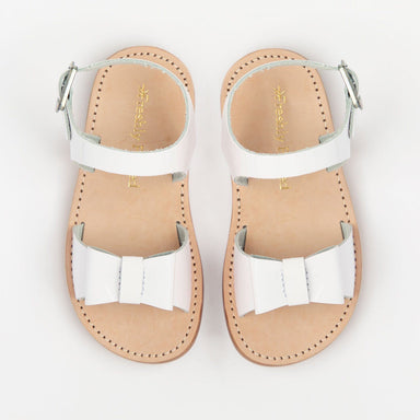 Bayview Sandal | White Patent - The Yellow Canary