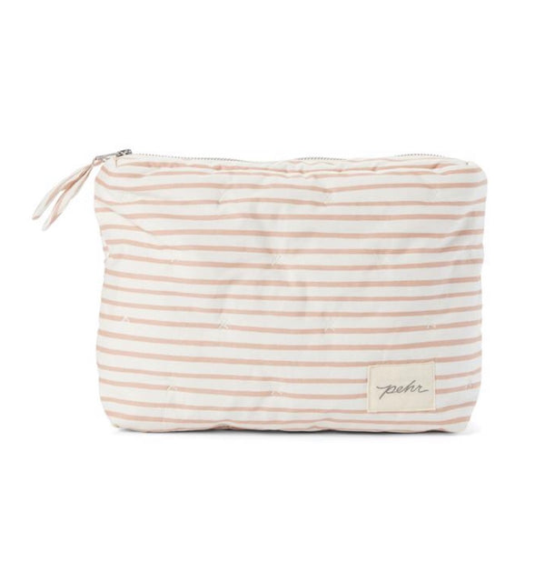 On The Go Travel Pouch | Rose Pink