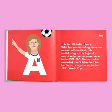 Sportswomen Legends Alphabet Book - The Yellow Canary
